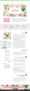 Blogger template Cactus