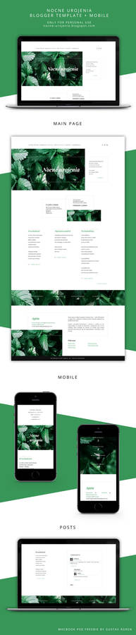 Blogger template Forest