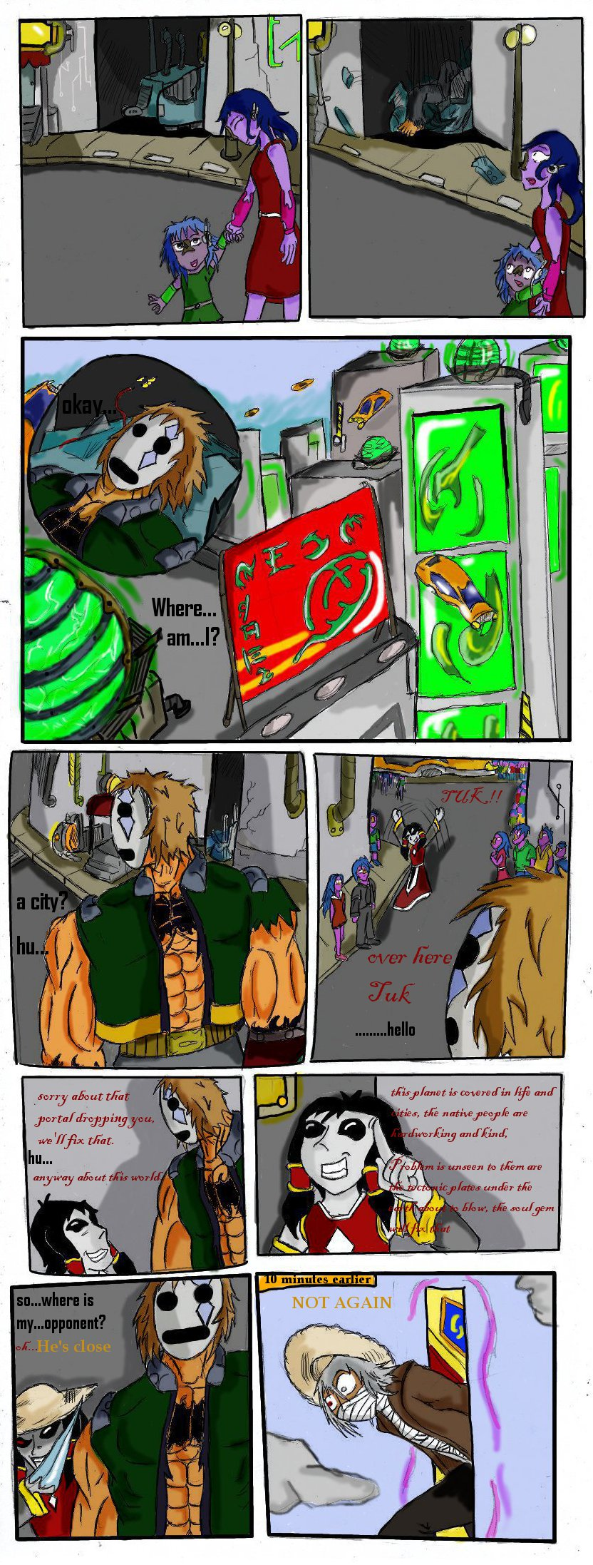 vital sparks round 2 page 4 by scrap-paper22
