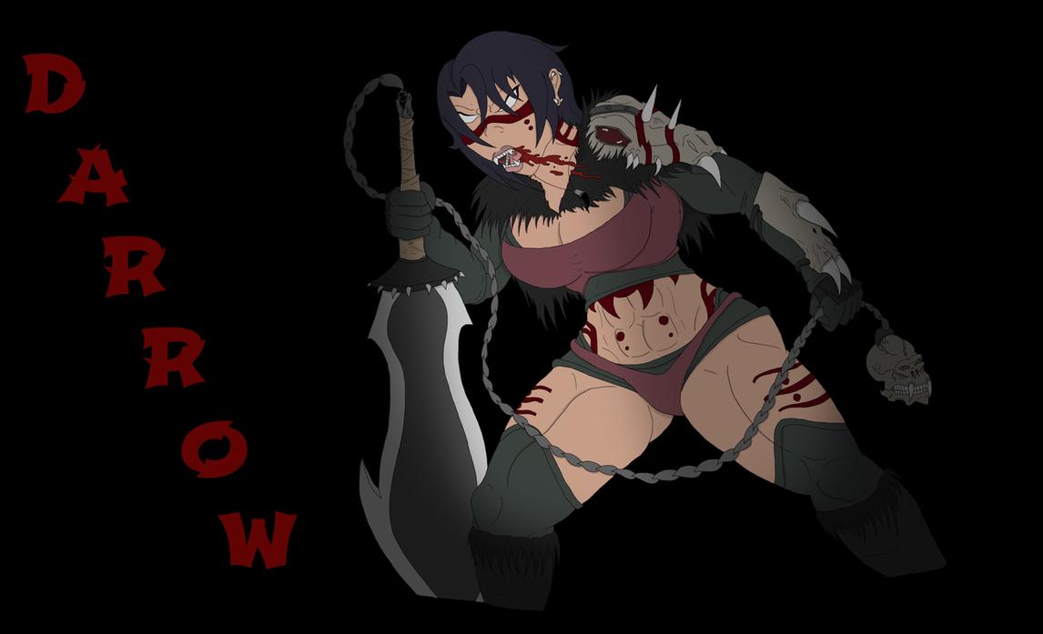 Darrow for DeadlyVenom by scrap-paper22