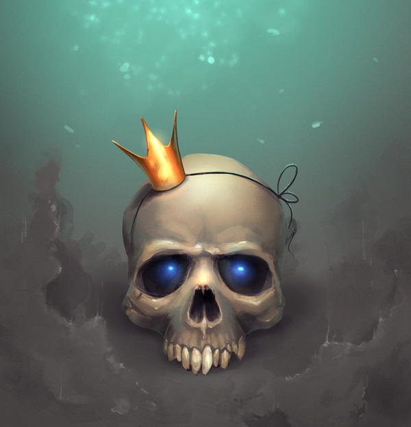 Skull by mortresss