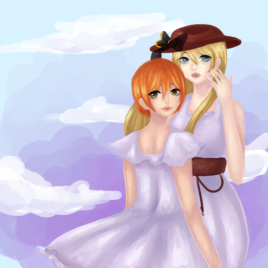 eli and rin ~ by FluffyGummieBears