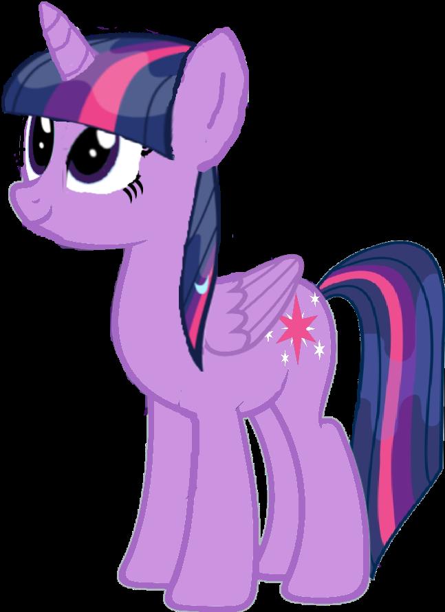 Twilight Sparkle wet mane