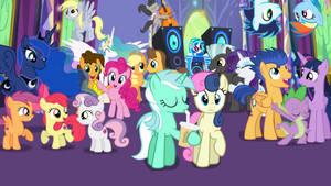 Party at Twilight's/ Flash Sentry's Lesson Zero