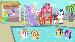 MLP: A day at the pool