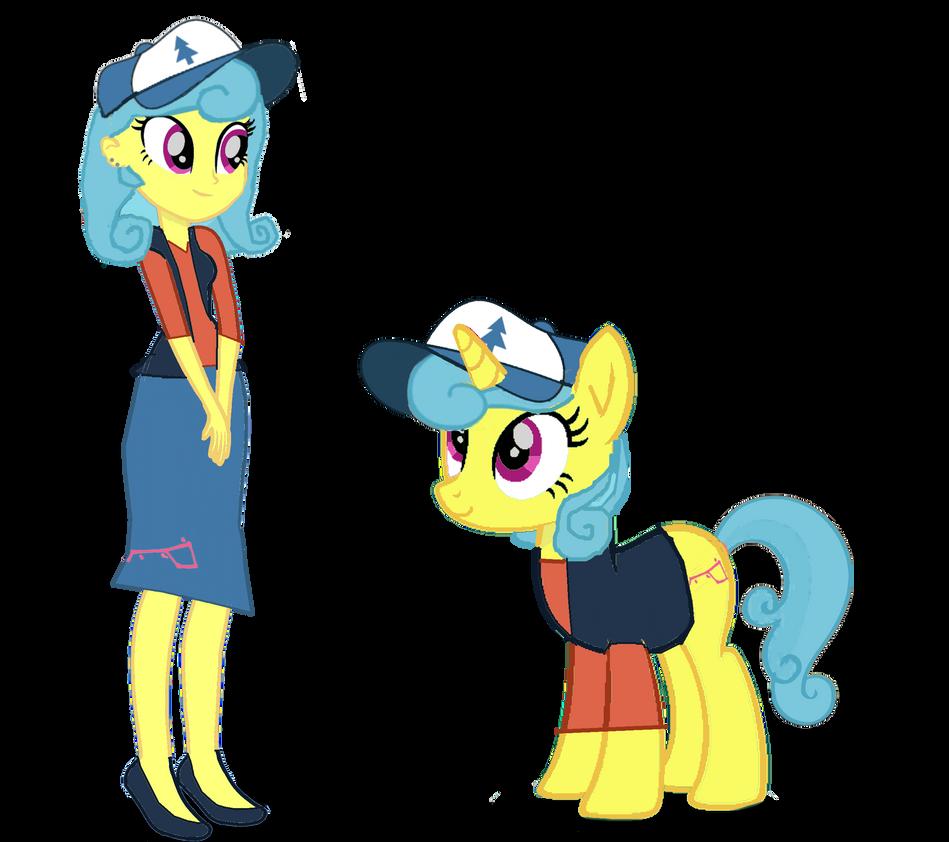 Lemon Pines with her human self