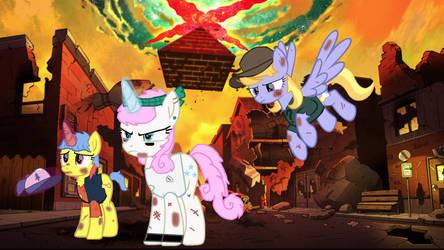 MLP: The Weirdmageddon trio by twilightsparkle0428