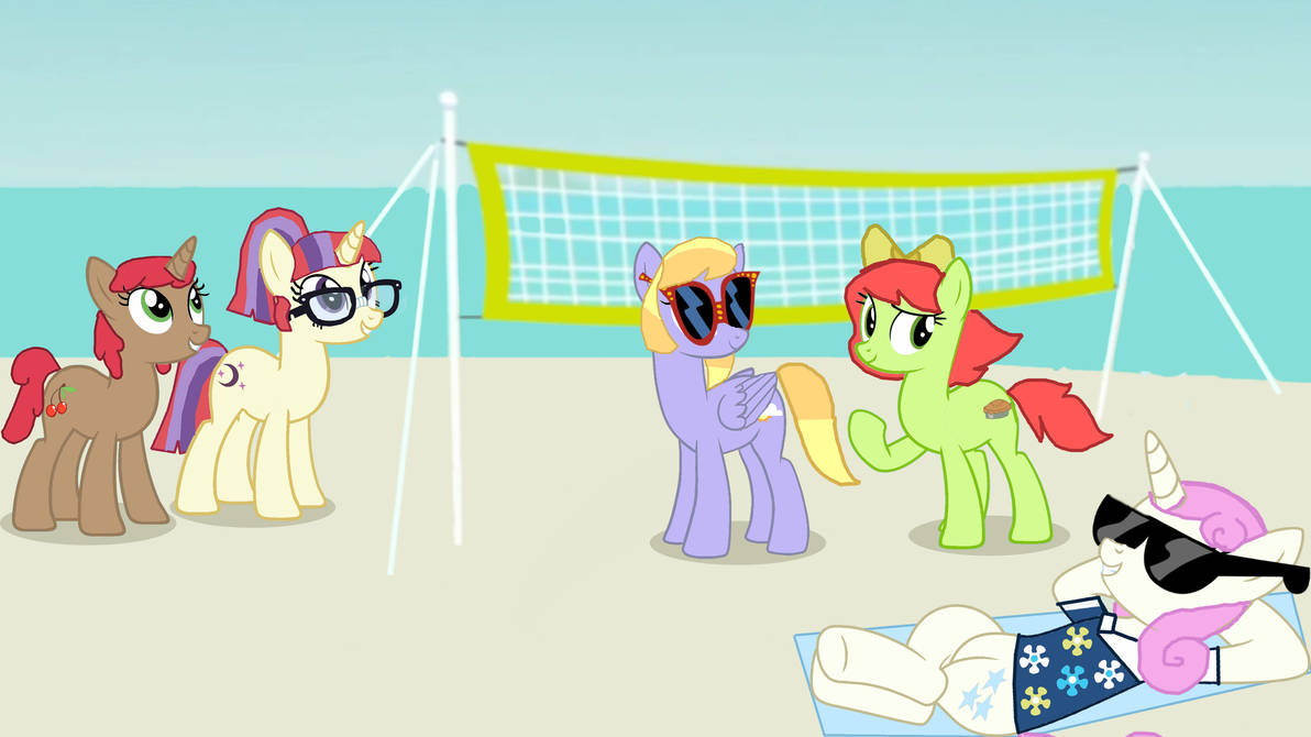RQ: Malibu Moondancer and Friends at the beach
