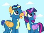 Flash and Twilight join the wonderbolts