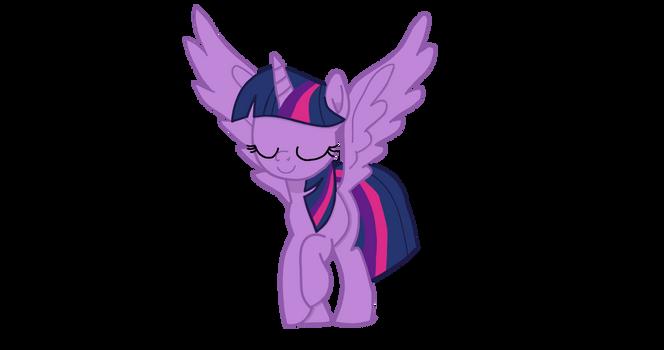 Twilight Sparkle landing