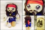 Jack Sparrow plush