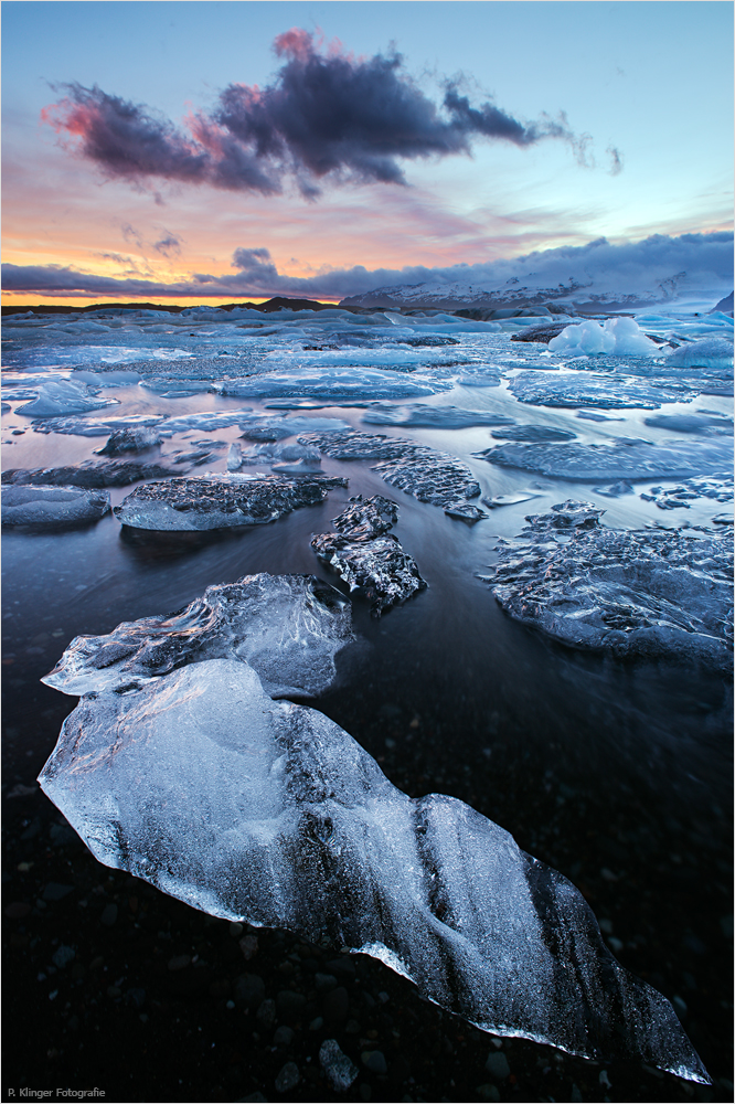 The Glacier Lagoon by Aphantopus