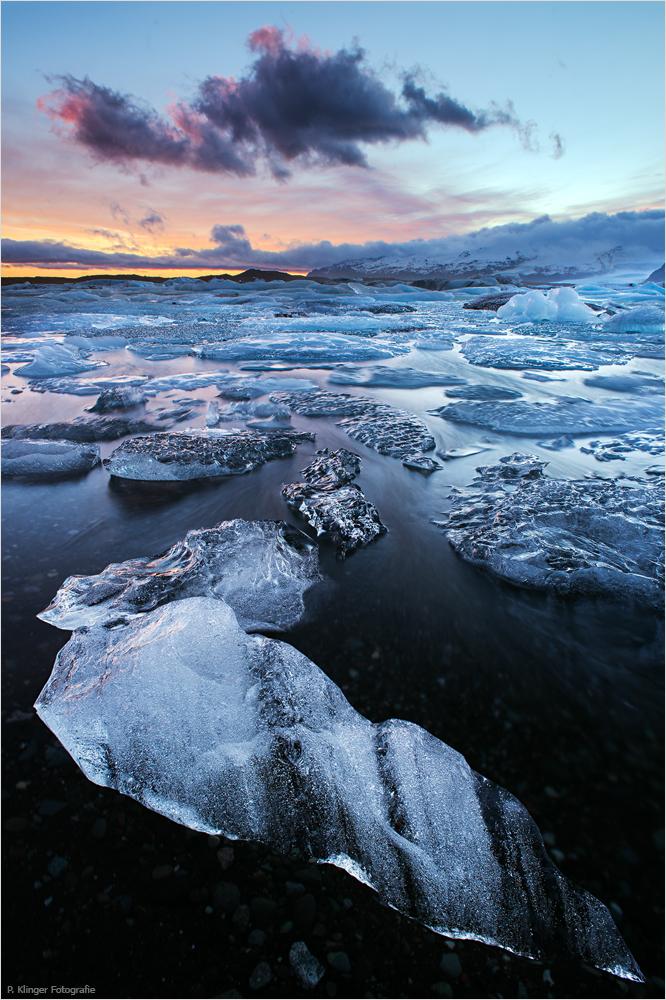The Glacier Lagoon by Aphantopus