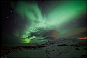 Snaefellsnes Aurora by Aphantopus