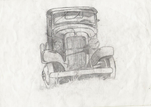 old truck by fullhex
