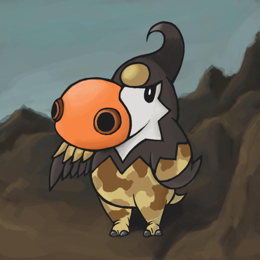 Pokemon Fusion - Hipporavia by fullhex