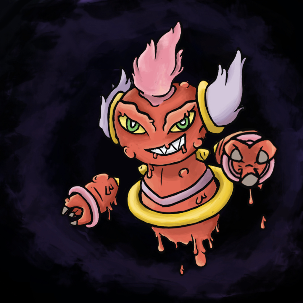 Pokemon Fusion - Sloopa by fullhex