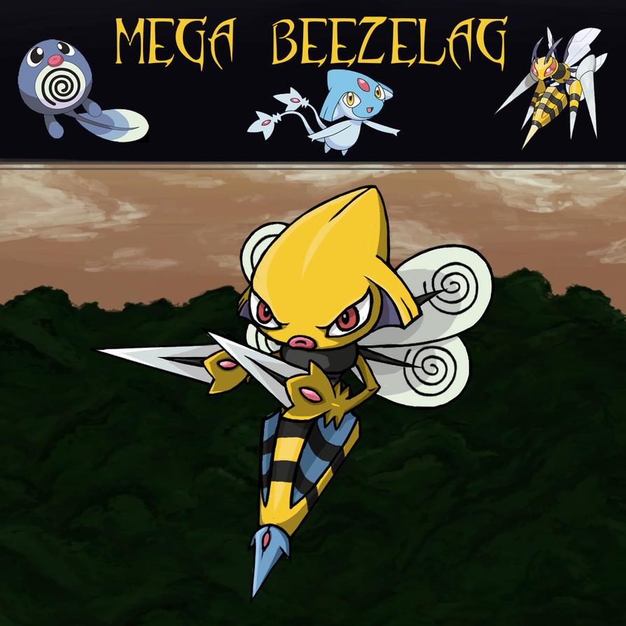 Pokemon Trifusion Mega Beezelag by fullhex