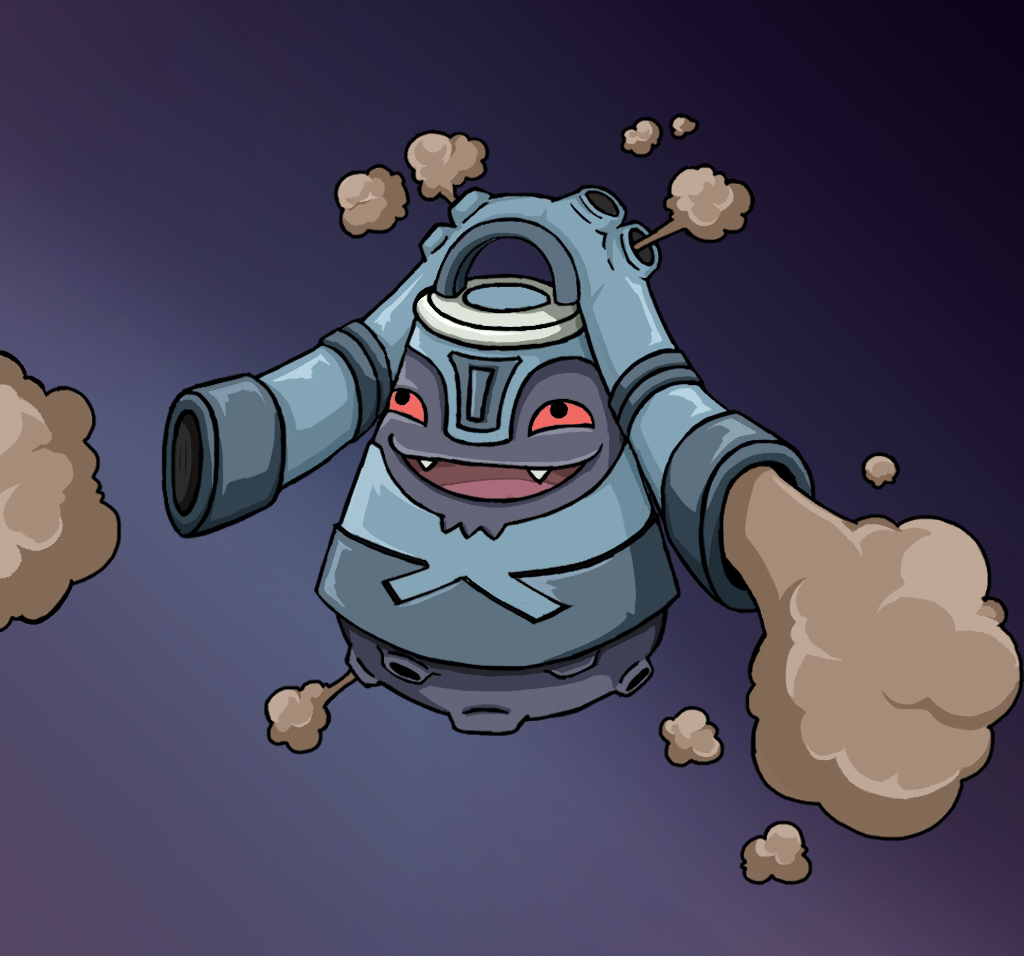 Kozong - Pokemon Fusion by fullhex