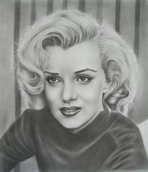 Marilyn Monroe by AmaniWarrington