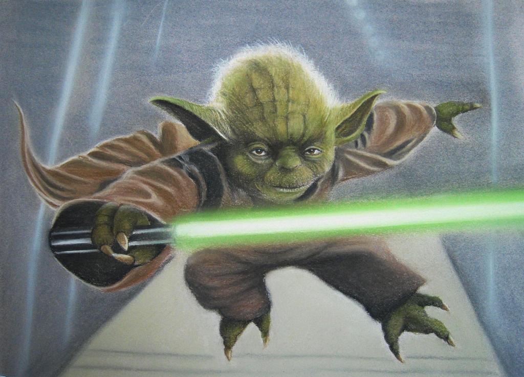 Yoda by AmaniWarrington