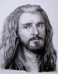 Thorin Oakenshield by AmaniWarrington