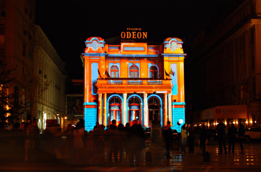 Odeon Theatre by Crisstyana