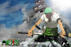 Zoro The Destroyer by DrLinuX