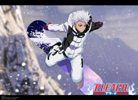 Toshiro Hitsugaya Snowboarding by DrLinuX