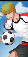 Kurosaki Ichigo Football by DrLinuX