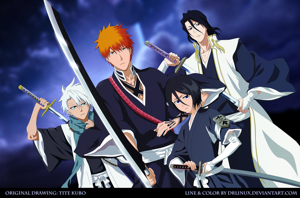 Bleach Unleashed Swords by DrLinuX