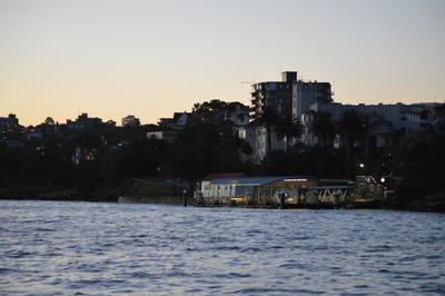 Old Ferry Station in Sydney Harbour