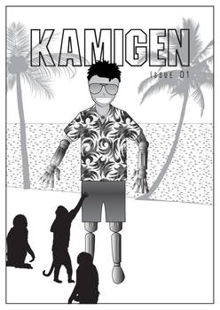 Kamigen Issue 01 Cover