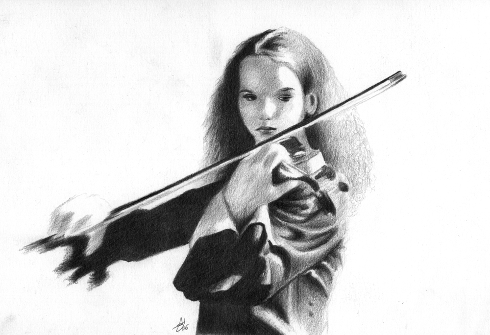 Hilary Hahn by GotikHouse