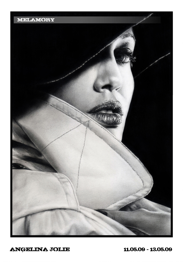 Angelina Jolie by FairyARTos