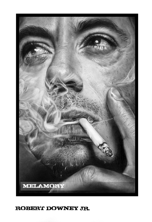 Robert Downey Jr. by FairyARTos