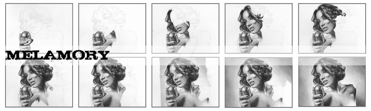 Victoria Daineko wip by FairyARTos