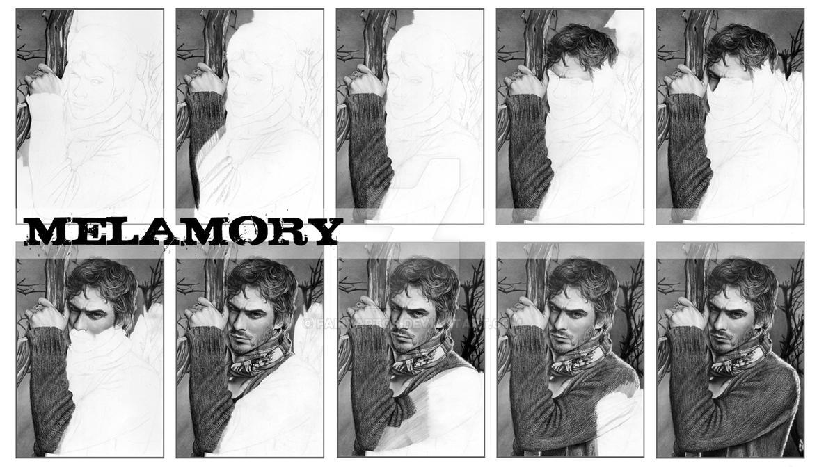 Ian-Somerhalder wip by FairyARTos