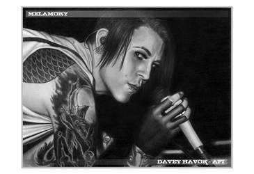 Davey Havok - 19 by FairyARTos