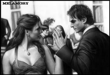 Elena and Damone by FairyARTos