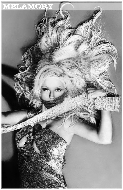 Christina Aguilera 2 by FairyARTos