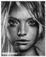 Gemma Ward by FairyARTos