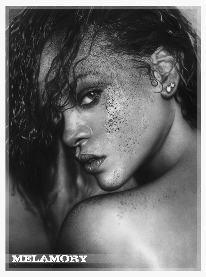 Rihanna by FairyARTos