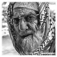 An elderly man