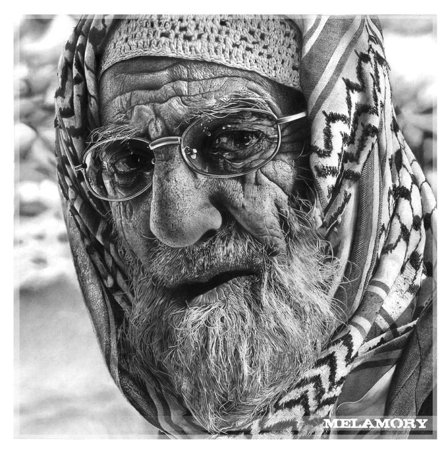 An elderly man by FairyARTos