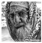 An elderly man
