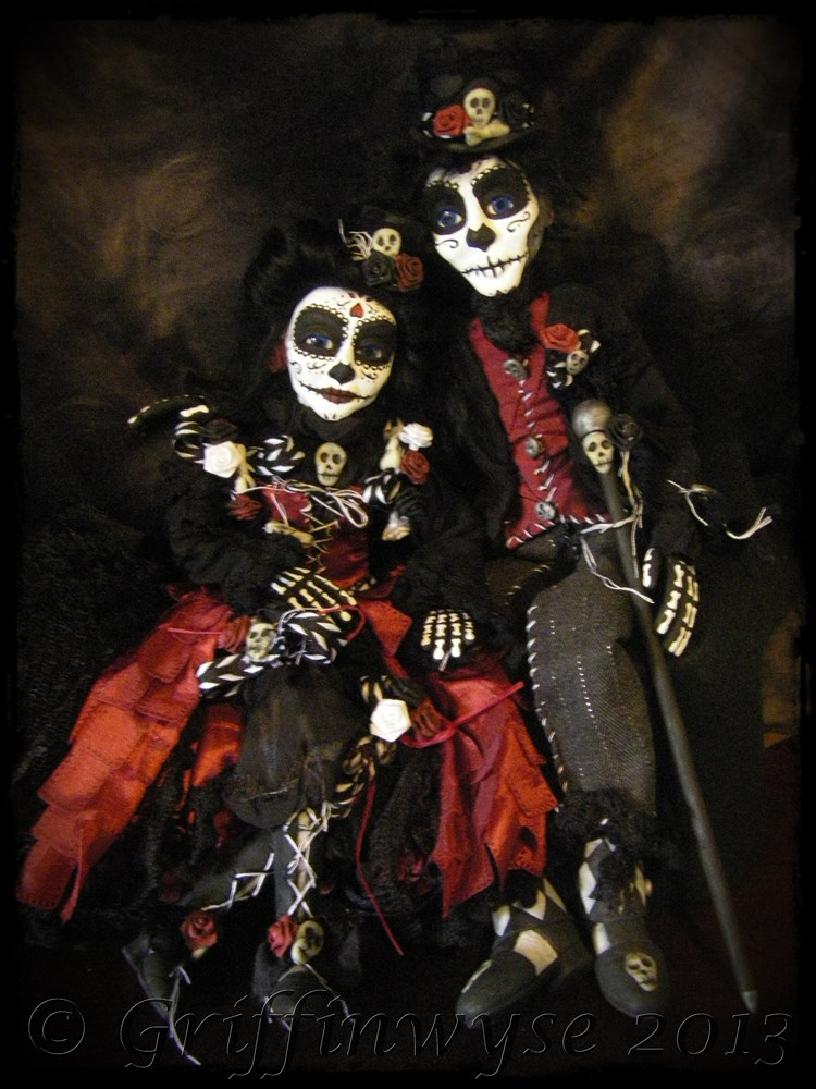 Day Of The Dead Couple By Griffinwyse