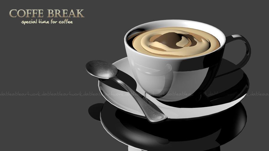 coffee break time! by dableable on DeviantArt