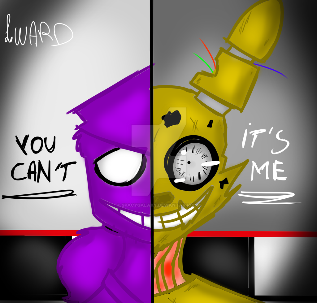 Purple Guy In Sprintrap By Spacygalaxy On Deviantart
