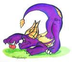 - fan art - Spyro by SpacyGalaxy